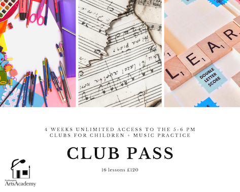 4 week unlimited Club Pass
