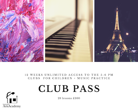 12 week unlimited Club Pass